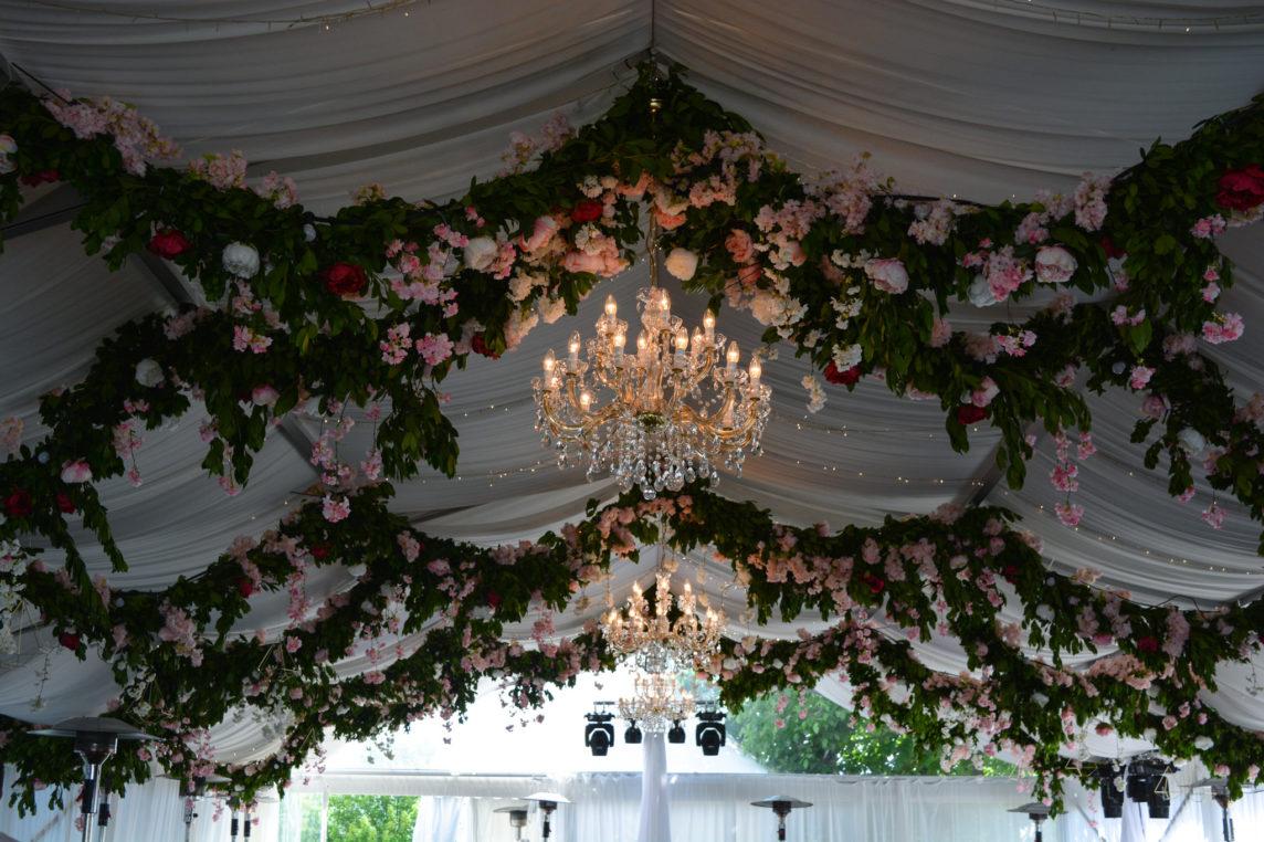 Сватбена декорация – Преобразена Вила Екатерина