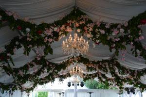 таван от цветя