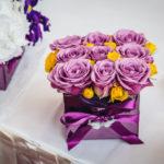 Декорация с цветя