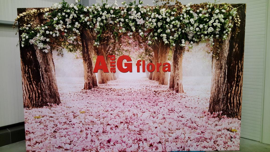 Откриване на магазин и склад за цветя на A и G Флора