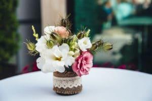 декорация от цветя