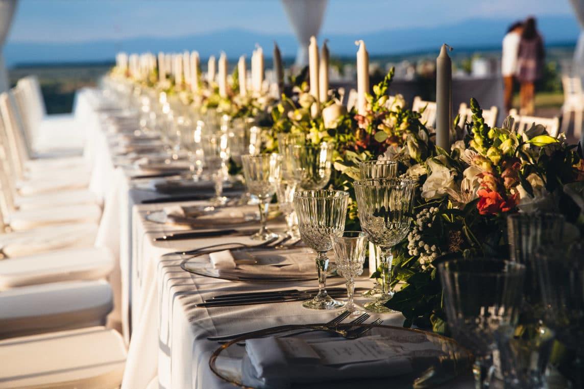 Сватбена Декорация – Тоскански Стил